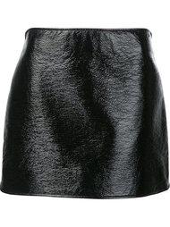 прямая юбка мини Courrèges