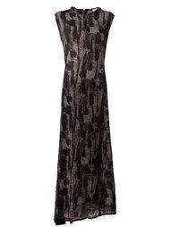 длинное платье 'Depp' Damir Doma