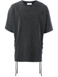 футболка с боковой шнуровкой Faith Connexion