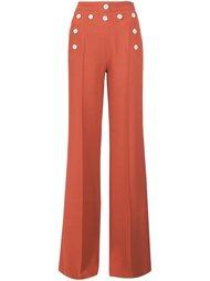 широкие брюки с завышенной талией Derek Lam