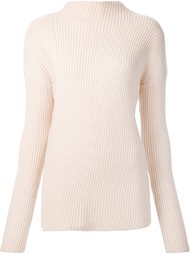 asymmetric turtleneck pullover Nomia