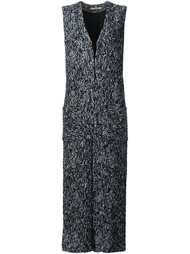 'Pablo' long vest Hellessy