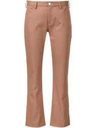straight cropped trousers Nomia