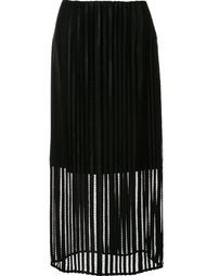 mid-waisted sheer skirt Sally Lapointe