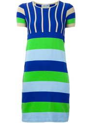 striped knit dress Walter Van Beirendonck Vintage