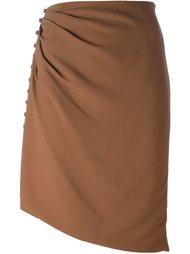 юбка на пуговицах  Marco De Vincenzo