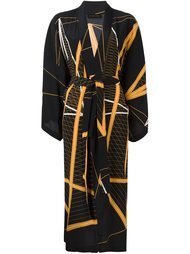 пальто в стиле кимоно  Stine Goya