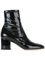 сапоги на каблуках-столбиках Valentino