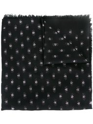 шарф с вышивкой в виде звезд Valentino