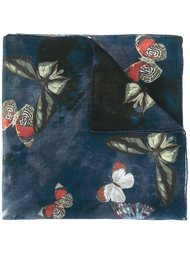 платок 'Japanese Butterfly' Valentino