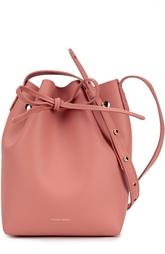 Кожаная сумка на шнурке Mini Bucket Bag Mansur Gavriel