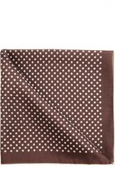 Шелковый платок в горох Tom Ford