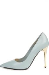 Кожаные туфли Metal Heel на шпильке Tom Ford