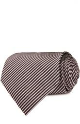 Шелковый галстук в диагональную полоску Tom Ford