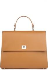 Кожаная сумка-портфель HUGO BOSS Black Label