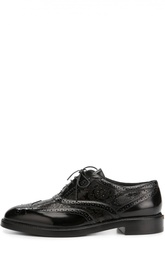 Кожаные ботинки с перфорацией Burberry