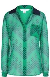 Шелковая блуза Lorelei Two с принтом Diane Von Furstenberg