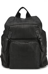Рюкзак из кожи питона Lanvin