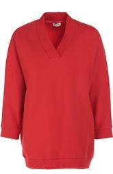 Пуловер с укороченным рукавом и аппликацией на спине Kenzo