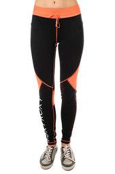 Штаны прямые женские Roxy Sunkissers True Black