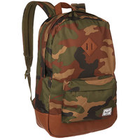 Рюкзак городской Herschel Heritage Woodland Camo/Tan Synthetic Leather