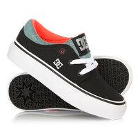 Кеды кроссовки низкие детские DC Trase Tx Td Se Black/Multi/White