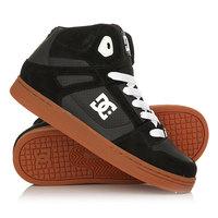 Кеды кроссовки высокие детские DC Rebound Yth Black/Gum