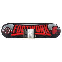 Дека для скейтборда для скейтборда Footwork Carbon Monument Red/Black 31.6 x 8 (20.3 см)