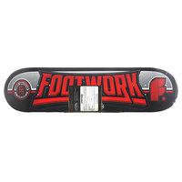 Дека для скейтборда для скейтборда Footwork Carbon Monument Red/Black 32.5 x 8.25 (21 см)