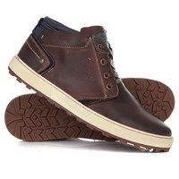 Ботинки высокие Wrangler Bruce Desert Dark Brown