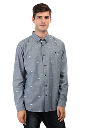 Рубашка Quiksilver Post Haste Ensign Blue