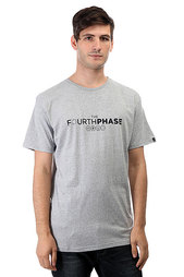 Футболка Quiksilver 4th Phase Light Grey Heather