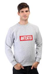 Толстовка свитшот Anteater Crewneck Patch Grey