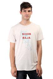 Футболка Nixon Mapa Off White