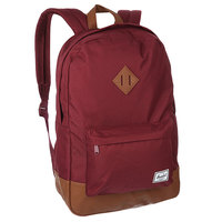 Рюкзак городской Herschel Heritage Windsor Wine/Tan Synthetic Leather