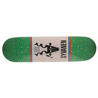 Дека для скейтборда для скейтборда Habitat Marius Seminal Green/White 32 x 8.375 (21.3 см)