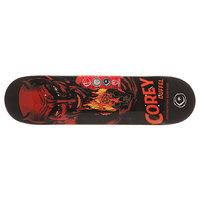 Дека для скейтборда для скейтборда Foundation Duffel Horror Black/Orange/Red 31.5 x 8.0 (20.3 см)