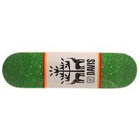 Дека для скейтборда для скейтборда Toy Machine Davis Seminal Green/White 31.75 x 8.5 (21.6 см) Habitat