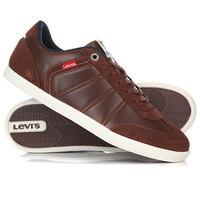 Кеды кроссовки низкие Levis Loch Dark Brown Levis®