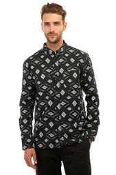 Рубашка DC Bowen Dale Black Ethnic Print
