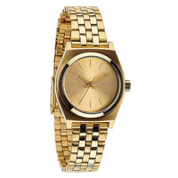 Часы женские Nixon Small Time Teller All Gold