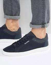 Плетеные кроссовки Calvin Klein Ion - Темно-синий