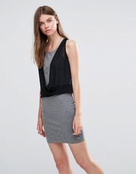 Трикотажное платье Pepe Jeans Witney - Серый