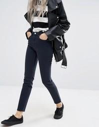 Джинсы в винтажном стиле с завышенной талией Weekday Way - Темно-синий