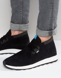 Кроссовки в стиле ботинок чукка Native - Черный