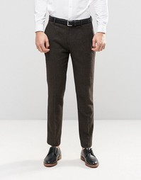Узкие приталенные брюки ASOS - Зеленый