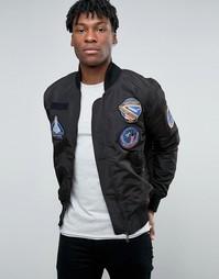 Куртка-пилот Abuze London - Черный