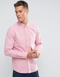 Розовая оксфордская рубашка классического кроя Jack Wills - Розовый