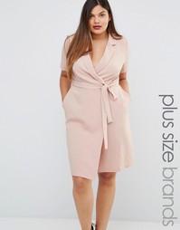 Платье с запахом Koko Plus - Розовый