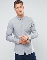 Серая оксфордская рубашка классического кроя Jack Wills - Серый